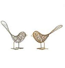 India, Wire Birds Antique
