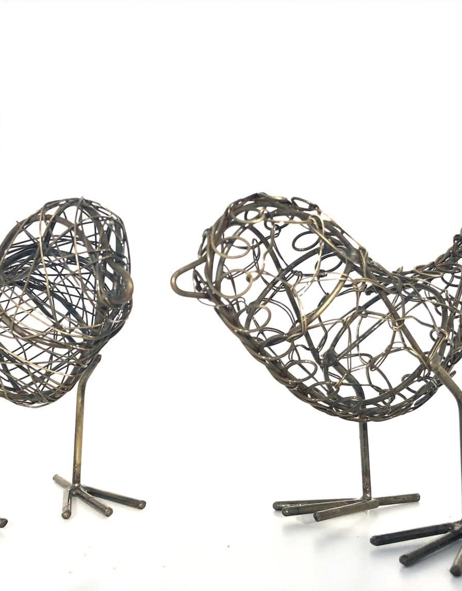India, Wire Birds Silver