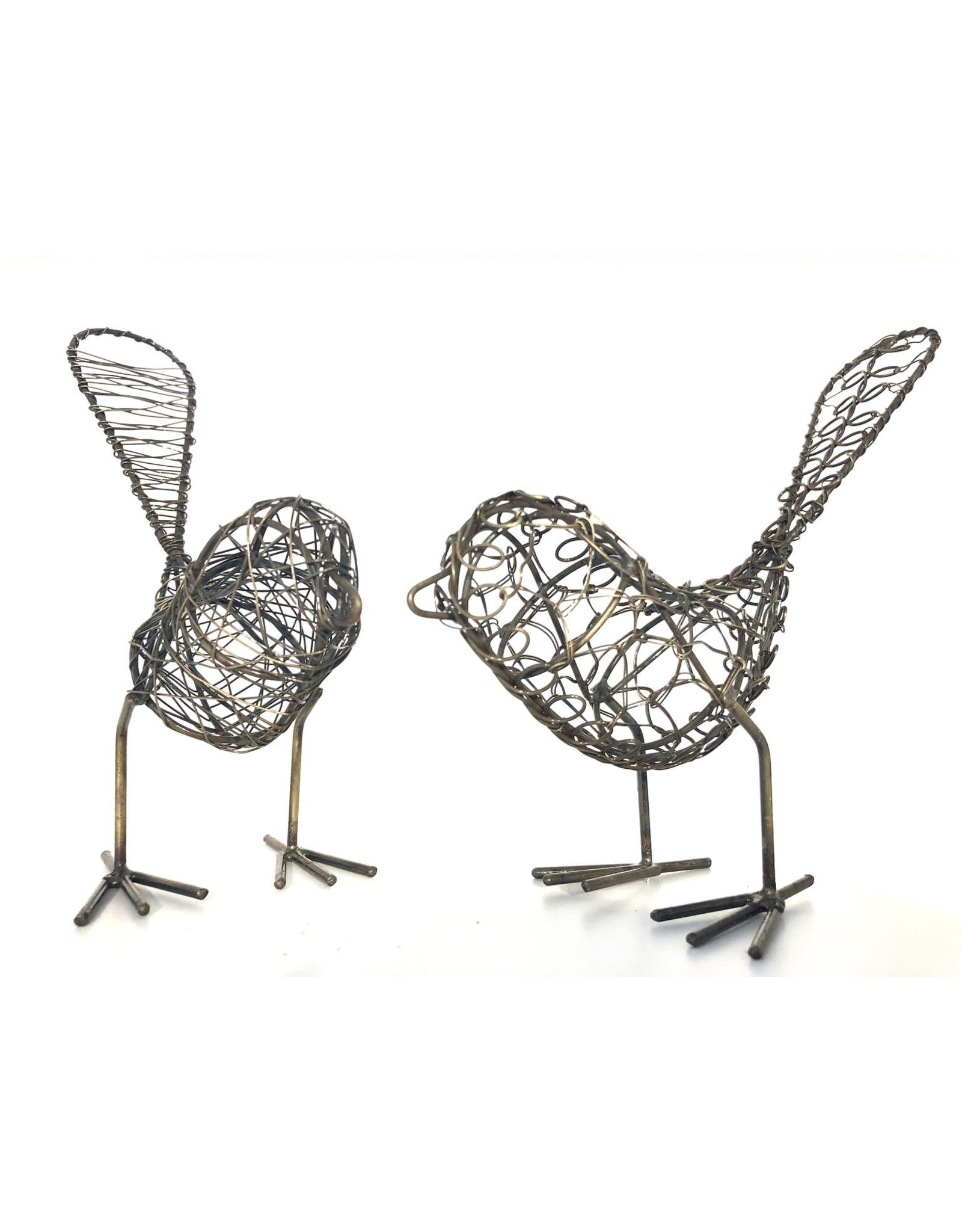Wire Birds Silver, India, SOLD INDIVIDUALLY