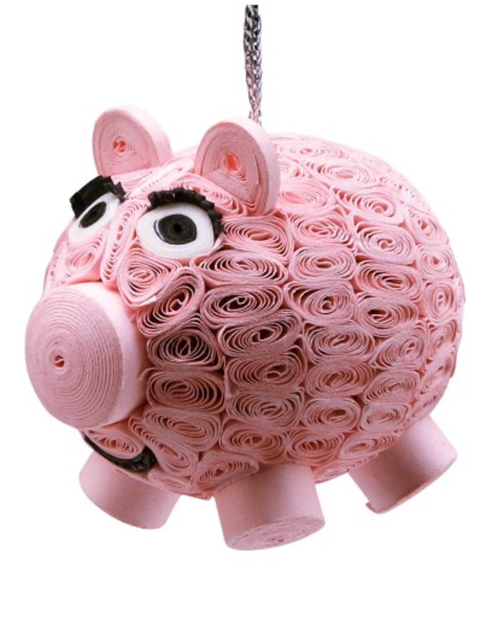 Vietnam, Quilled Ornament Pig
