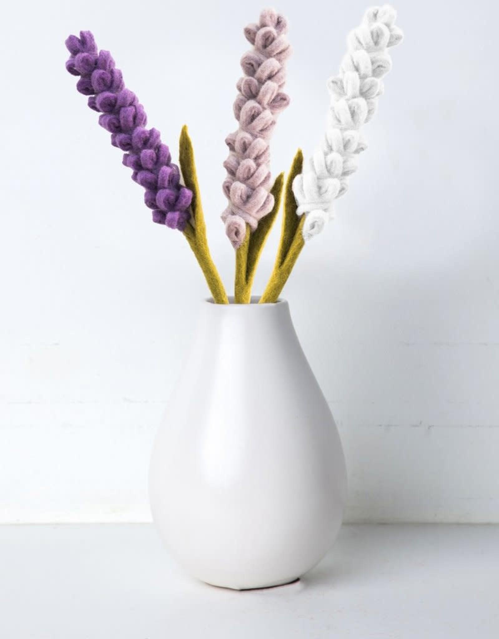 Lavender Felt Flower LILAC