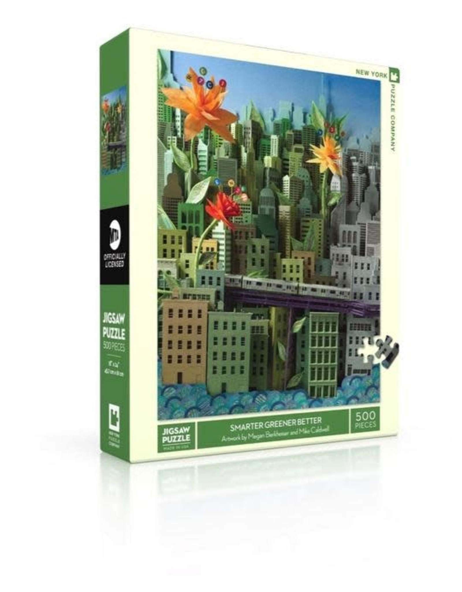 Smarter Greener Better Puzzle, 500 pieces
