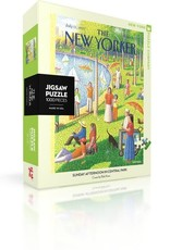 Sunday Afternoon in Central Park, 1000 piece puzzle