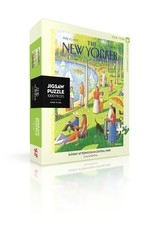 Sunday Afternoon In Central Park  Puzzle, 1000 Pieces