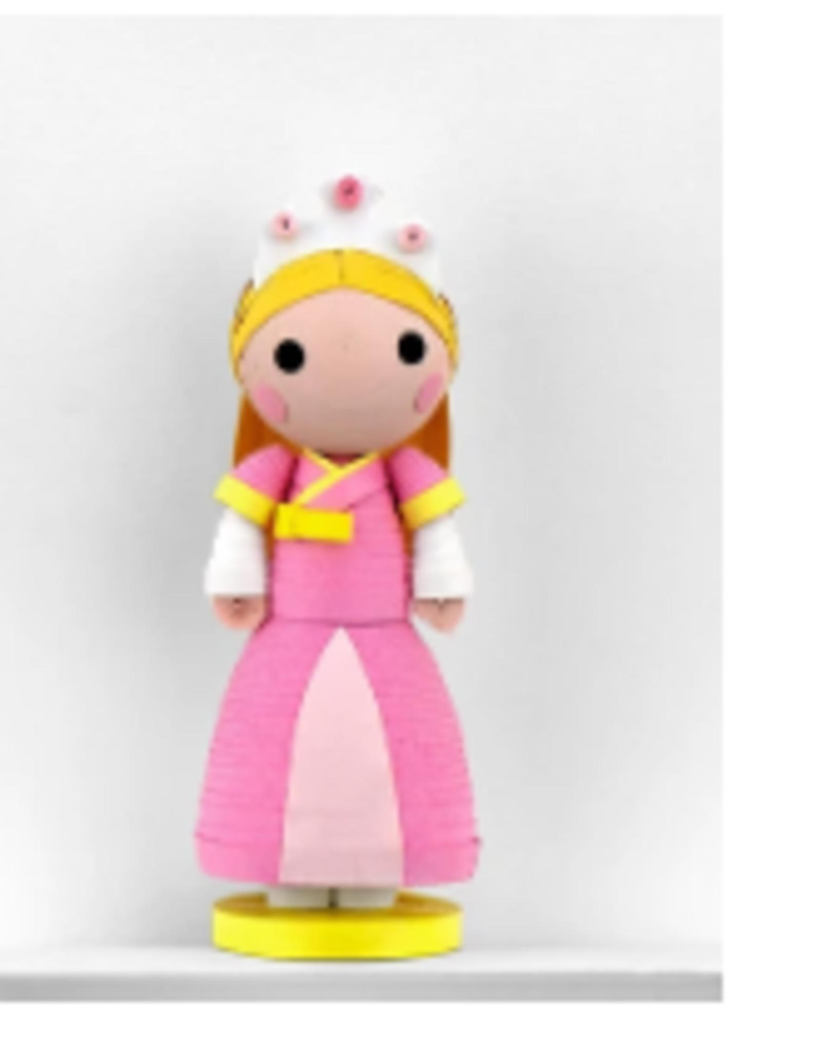 Vietnam, Quilled Ornaments Princess