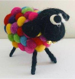 Nepal, Felt Sheep Multi