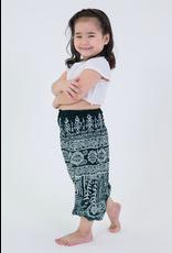 Thailand, Kids Elephant Pants  Green