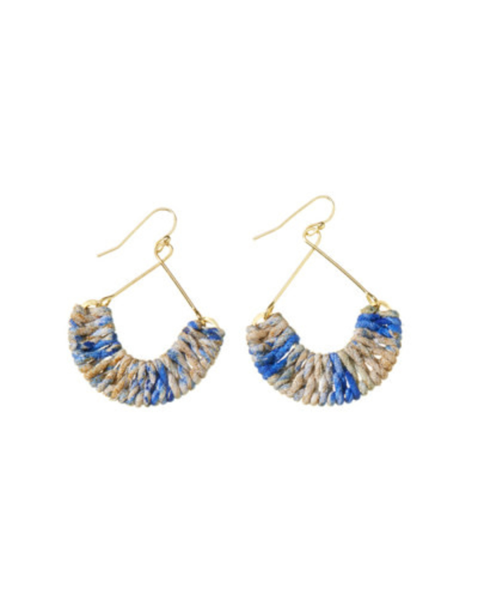 Mayra Twisted Earrings Cool, India
