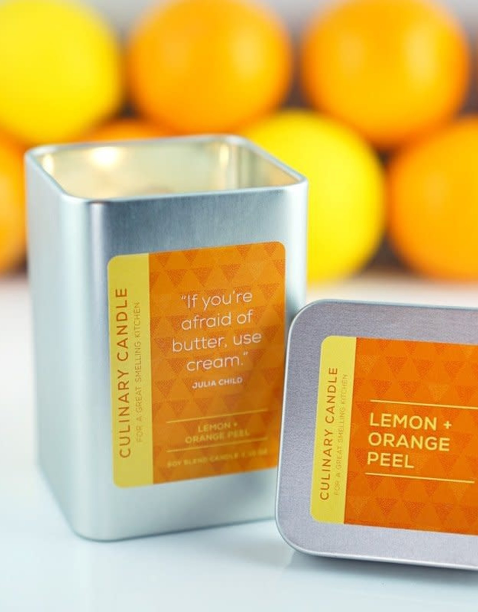 Culinary Candles Lemon  & Orange Peel