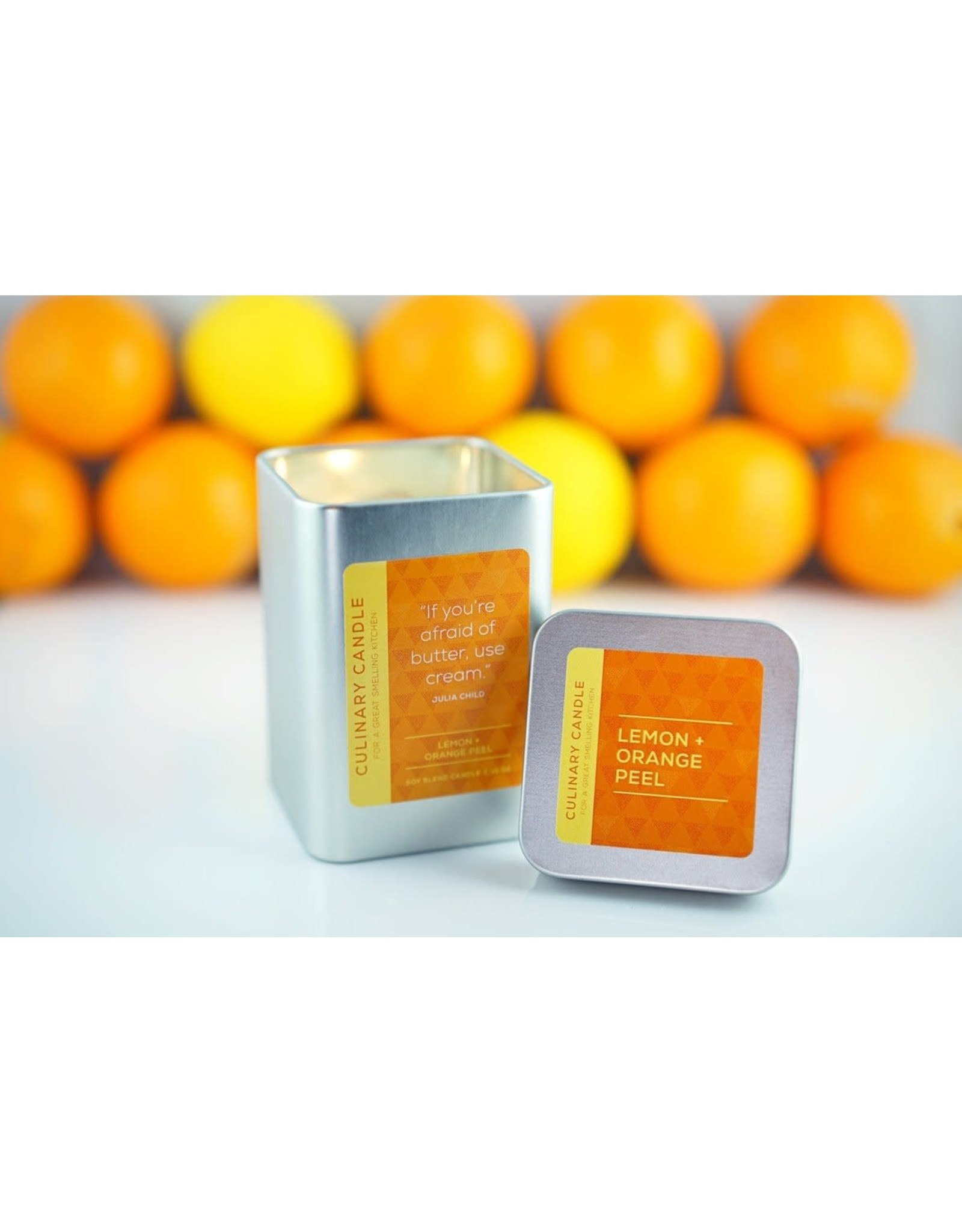 Culinary Candles Lemon  & Orange Peel