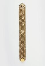 Petit Metalwork Bracelet  Gold
