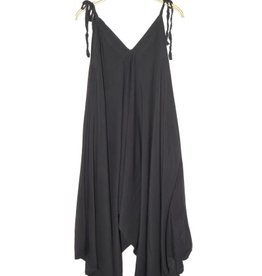 Thailand, Cotton Romper Charcoal