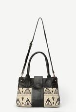 Suneli Leather Handbag Indian Lace, India
