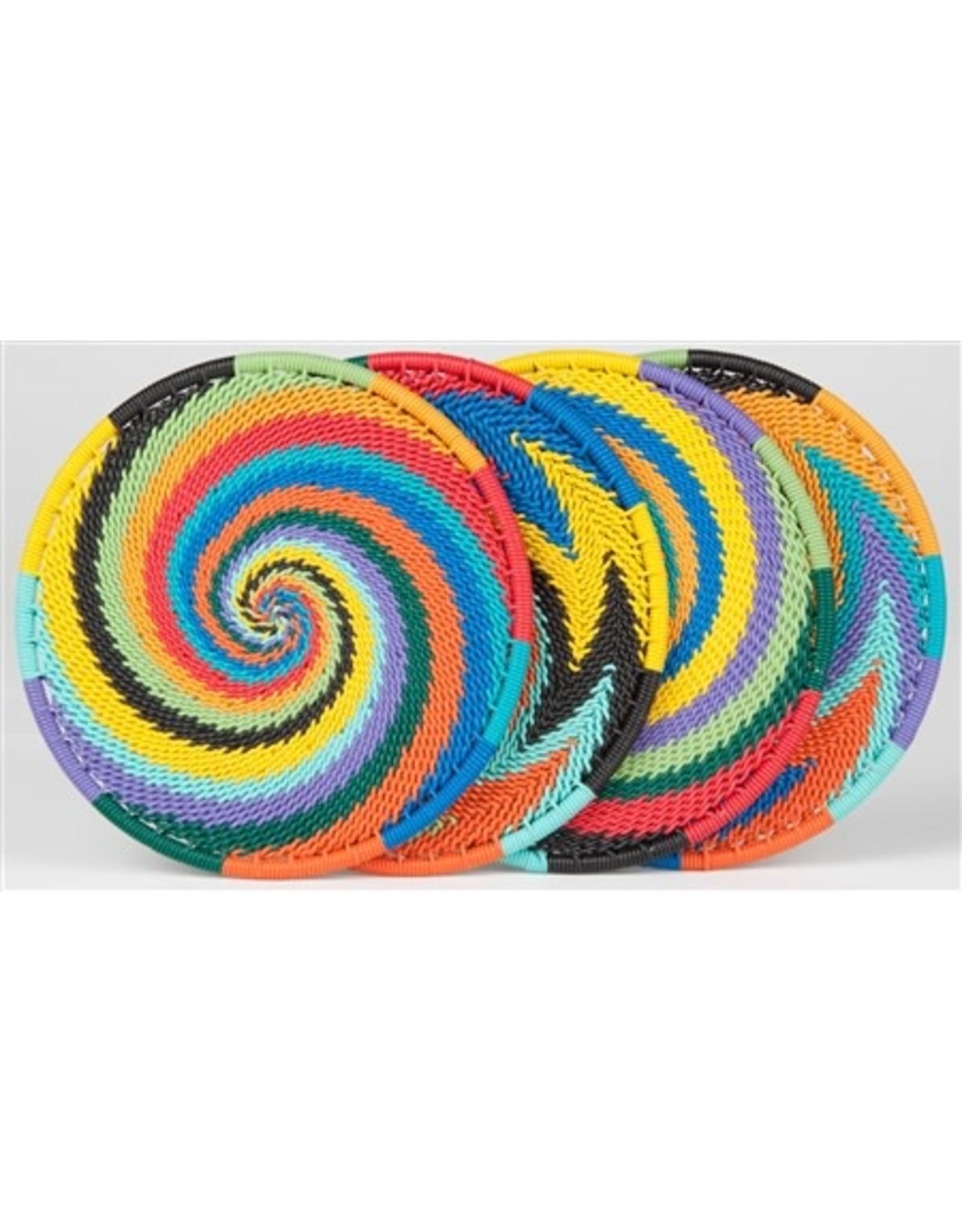 Telephone Wire Coaster  African Spirit