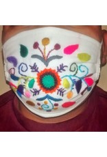 Embroidered Surgical Style  w/ Filter Pocket, ADULT mask