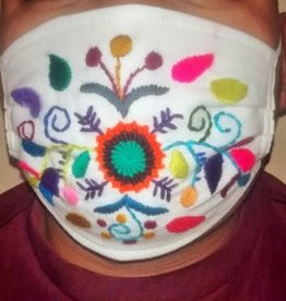 Embroidered Surgical Style, w/ Filter Pocket, ADULT mask