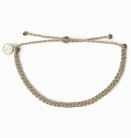 MINI BRAIDED SOLID Bracelet,  LIGHT GRAY