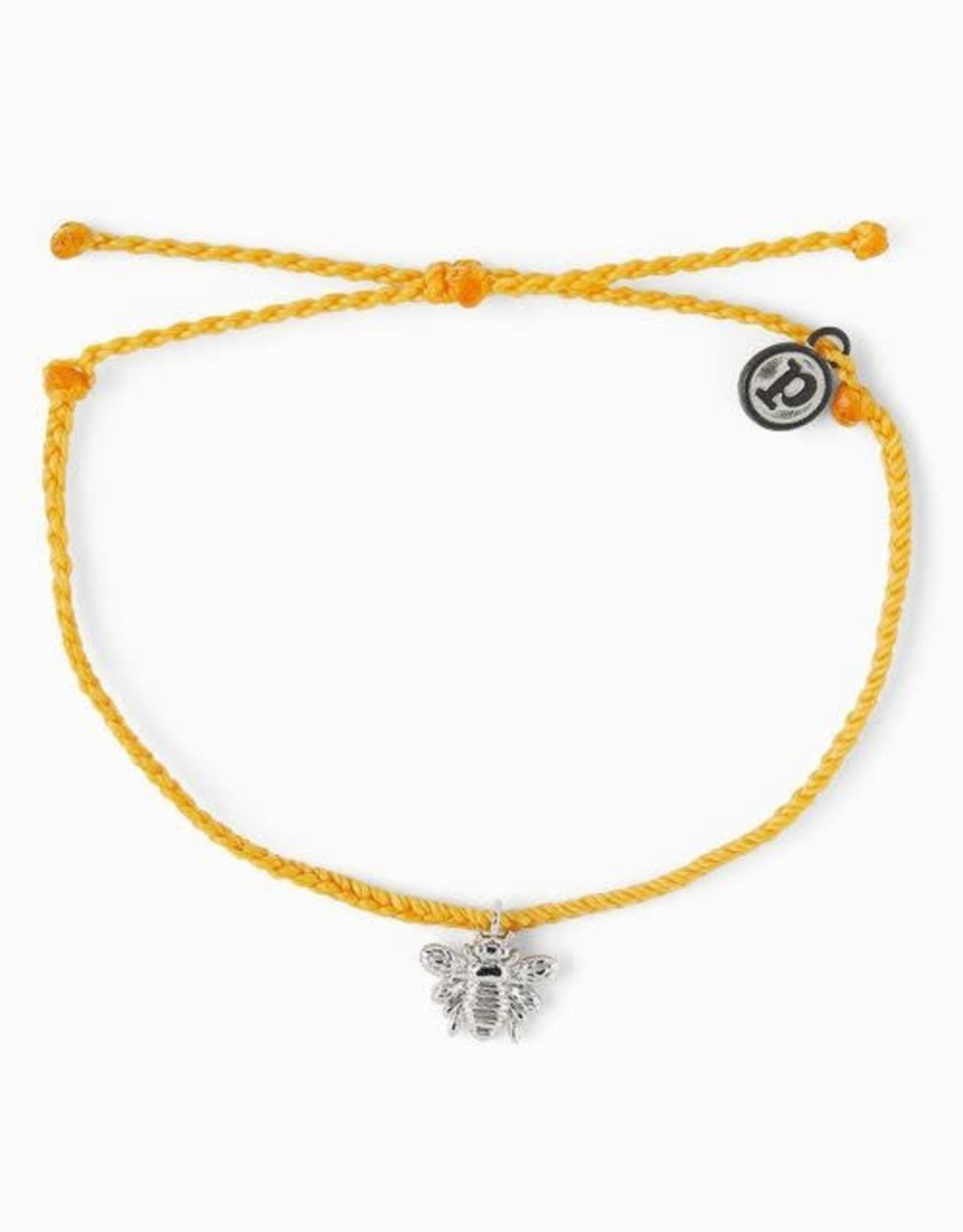 SILVER BEE Bracelet, DARK YELLOW