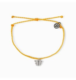 SILVER BEE Bracelet, DARK YELLOW