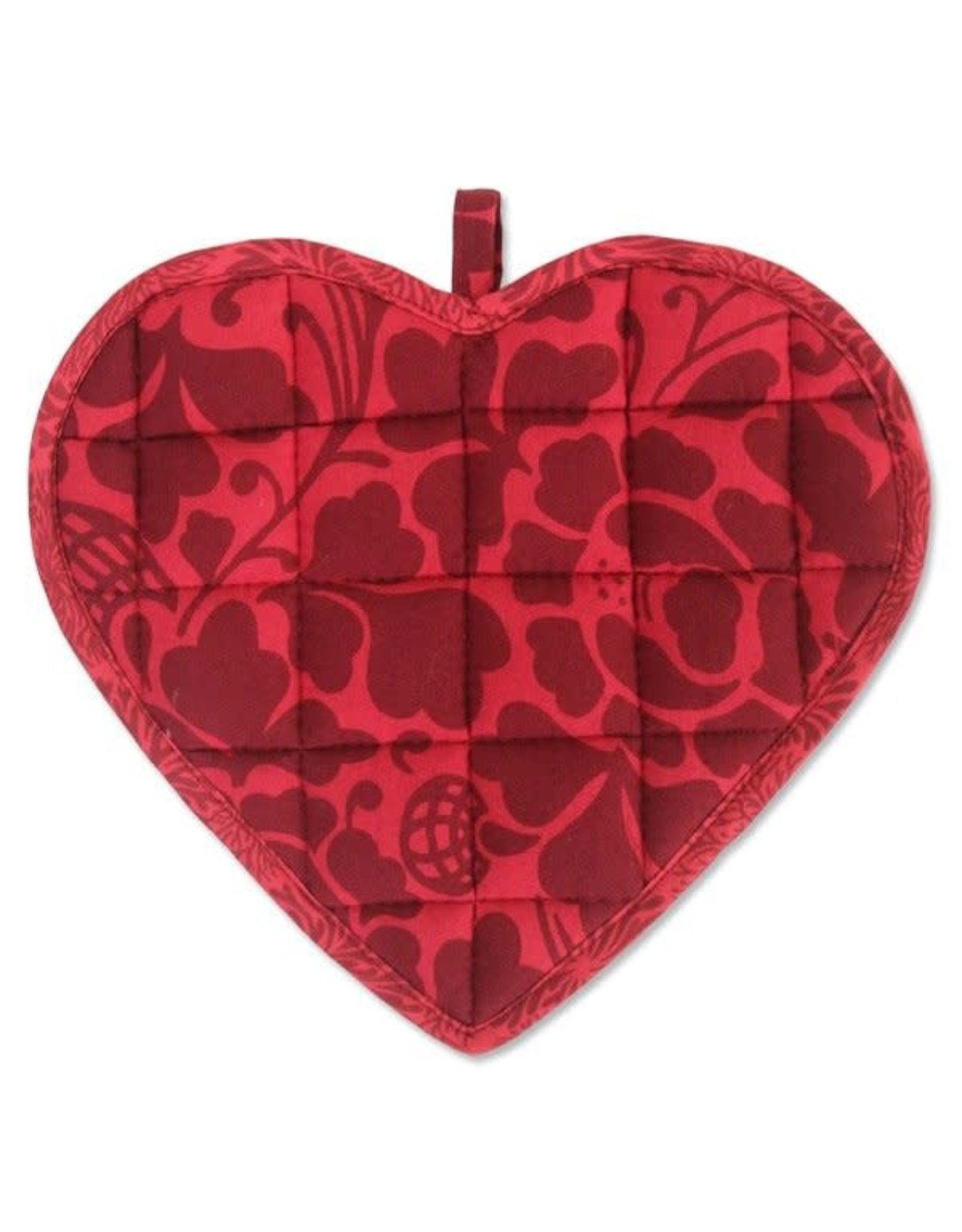 Sweetheart Pot Holder, Red Maroon