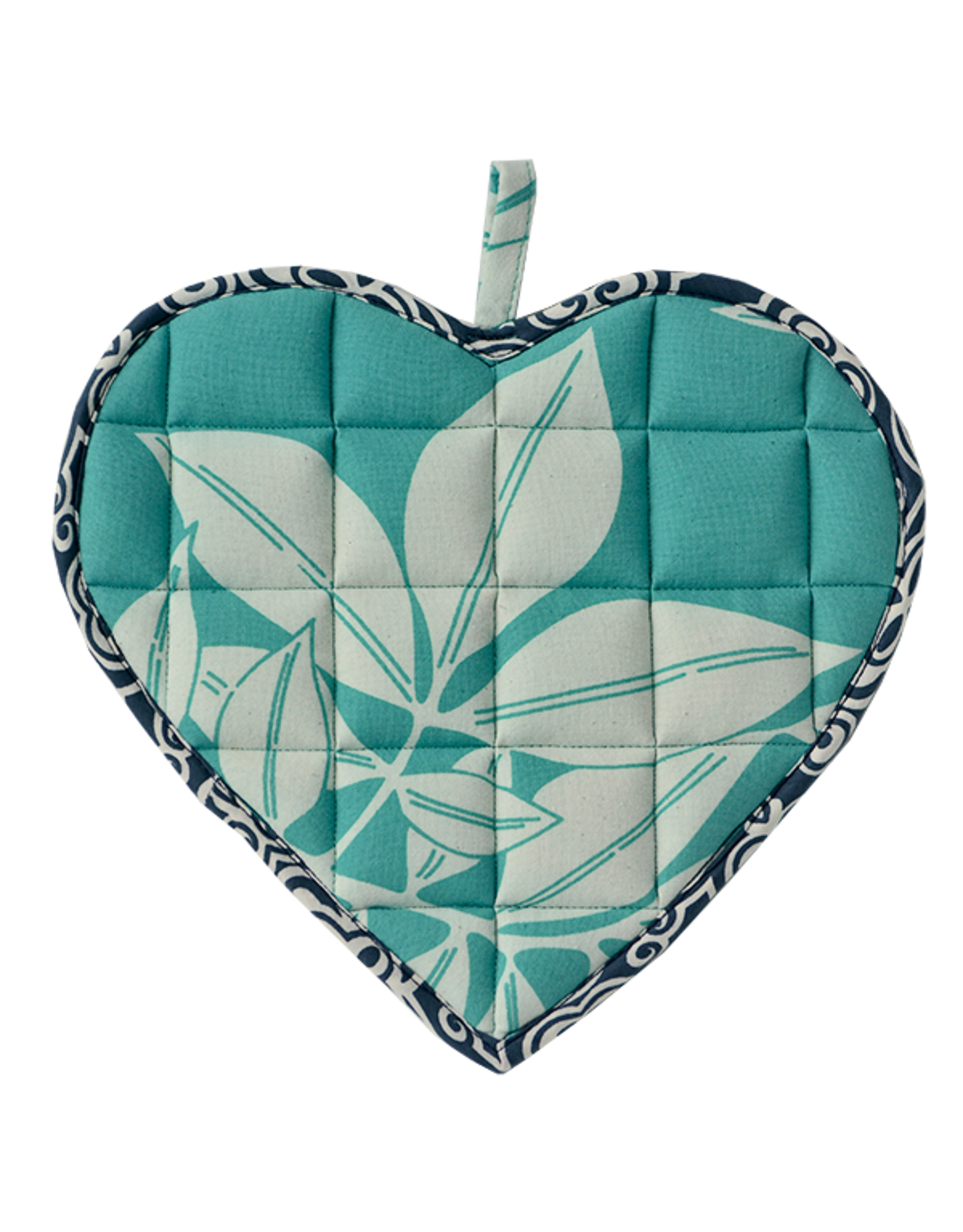 Sweetheart Pot Holder Turquoise