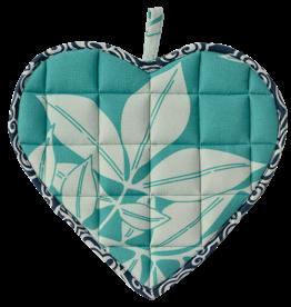 Sweetheart Pot Holder Turquoise