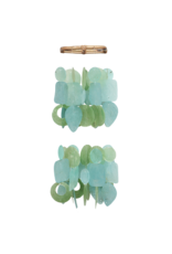 Mini Chandelier Chimes,  TEAL (TIDE POOL)