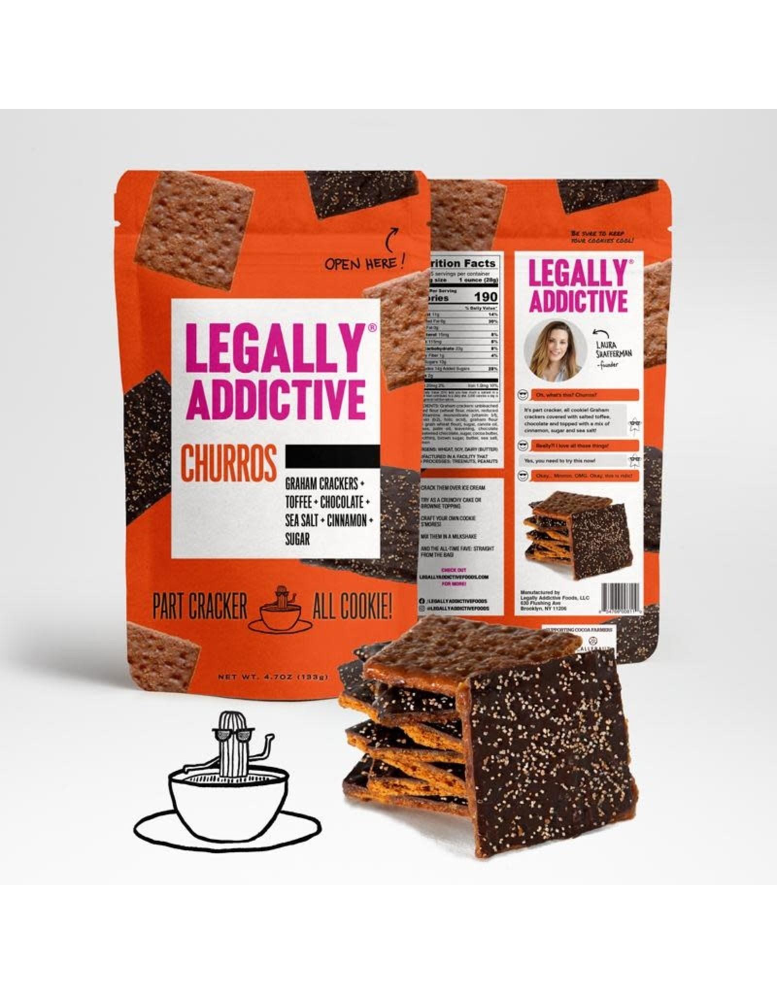Legally Addictive, Churros, 4.7 oz