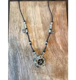 Hill Tribe,  Short Necklace, Flower