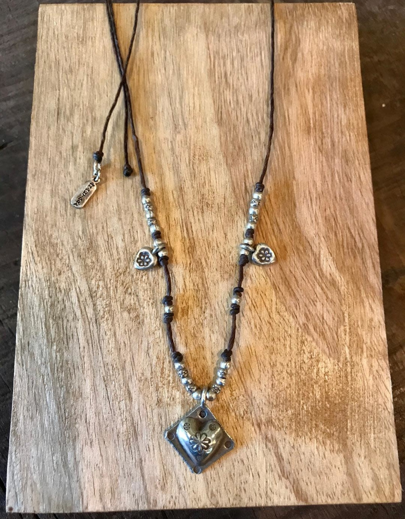 Hill Tribe, Heart Short Necklace
