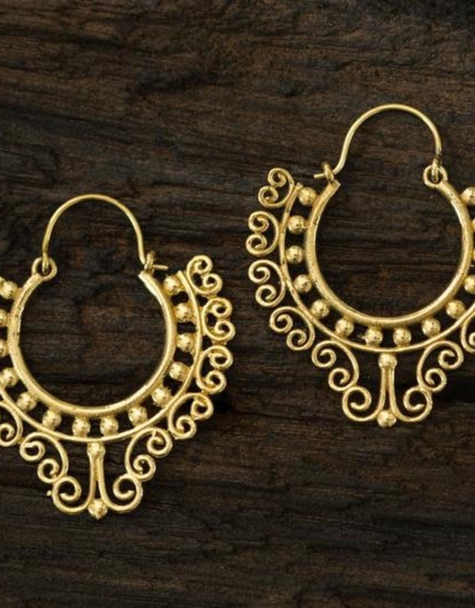 Hill Tribe, Kashmir Earrings