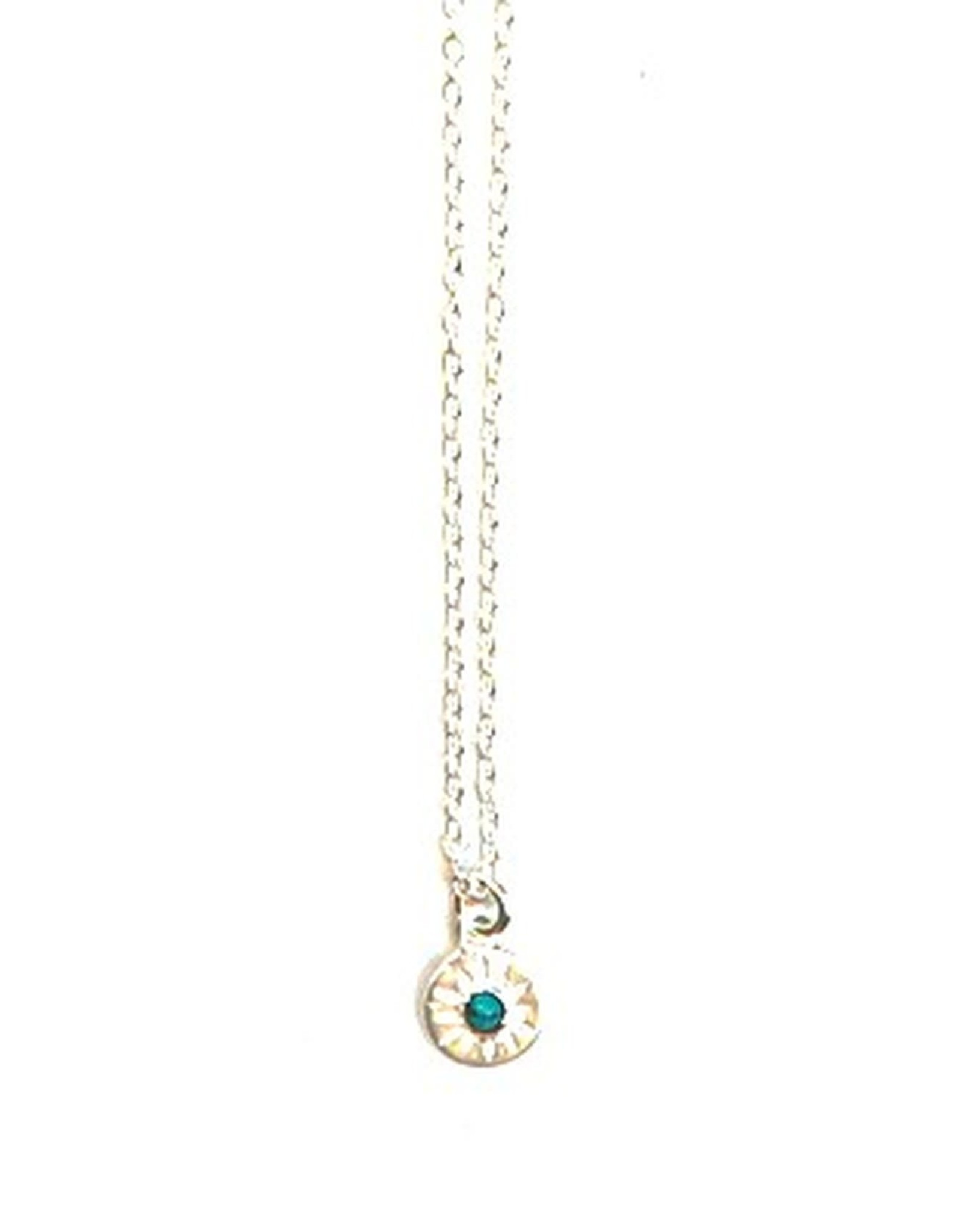 Starburst Sterling Silver Necklace