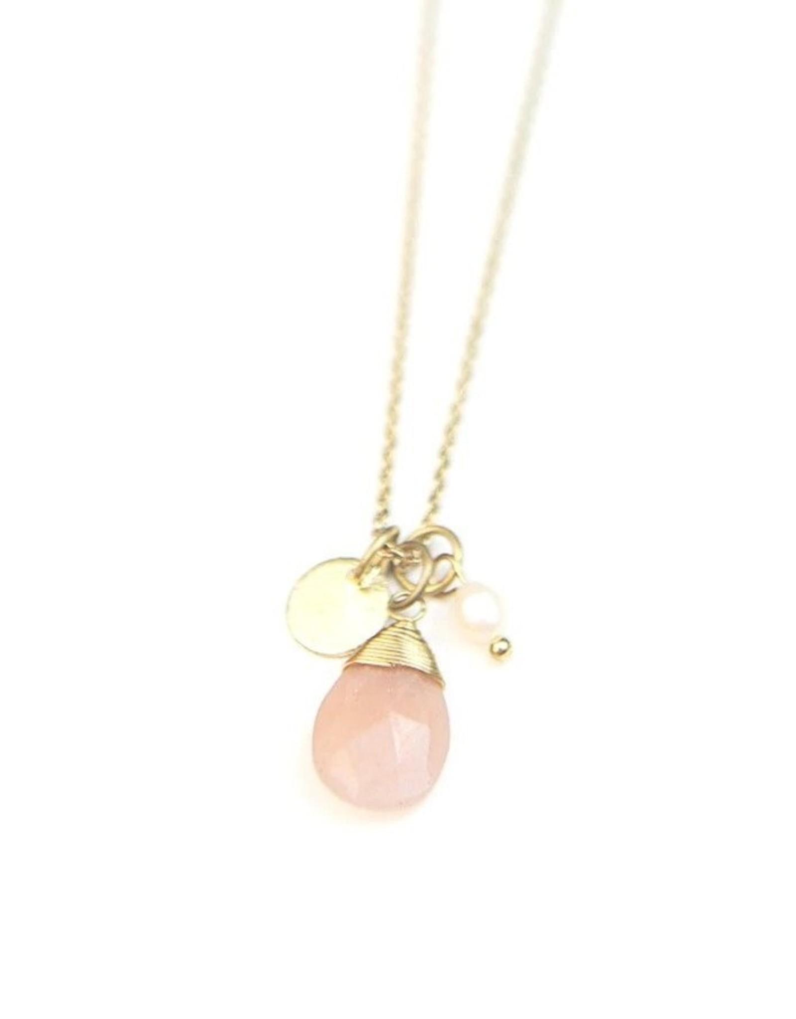 Tiny Treasures Necklace Brass