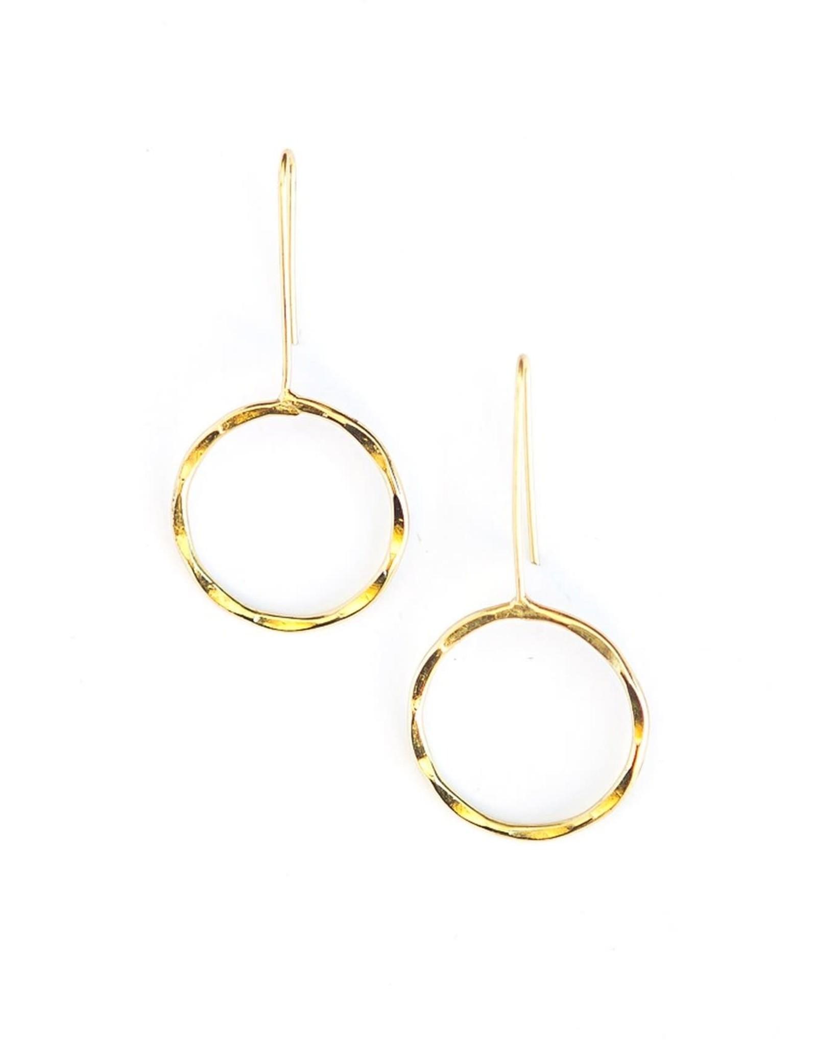 Full Moon Drop Earrings, India