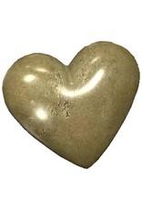 Soapstone Hearts Solid Gray, Kenya