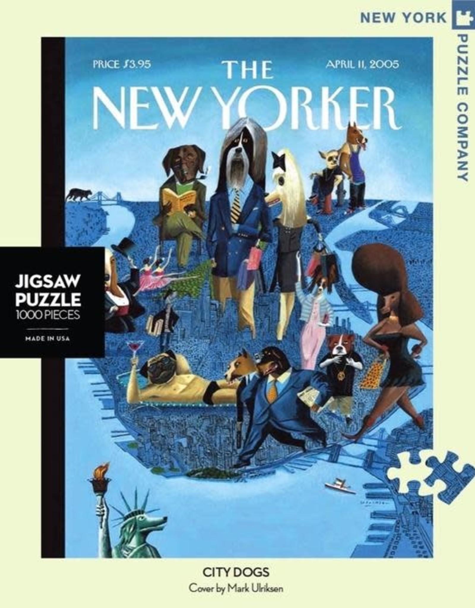 City Dogs Puzzle,  1000 pieces
