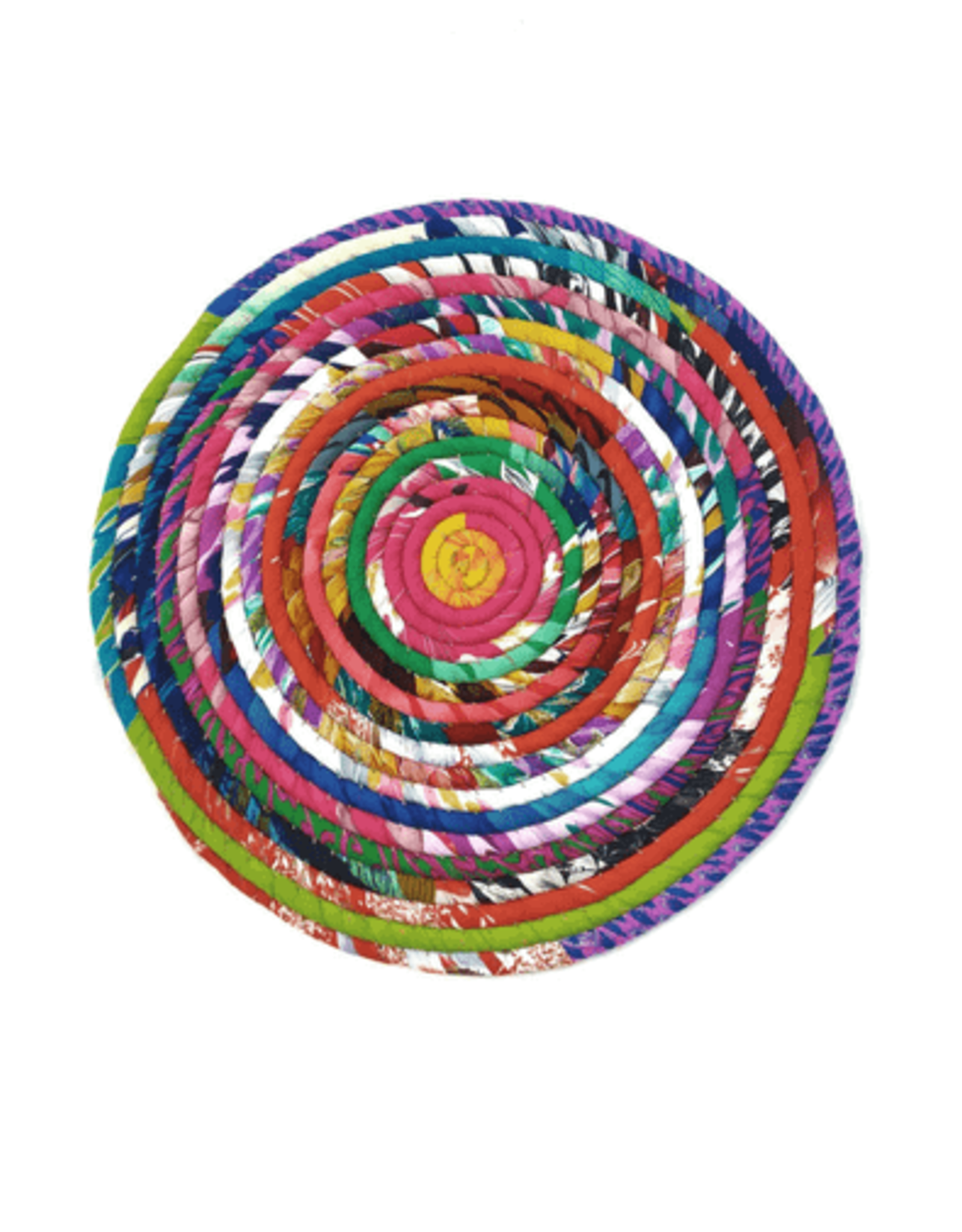 Silk Coil Placemat or Centerpiece
