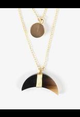 Yara  Horn  Necklace
