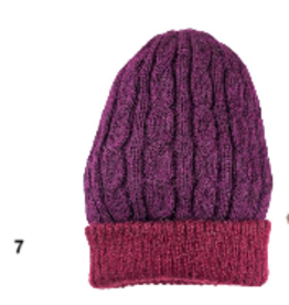 Reversible Cable Hat