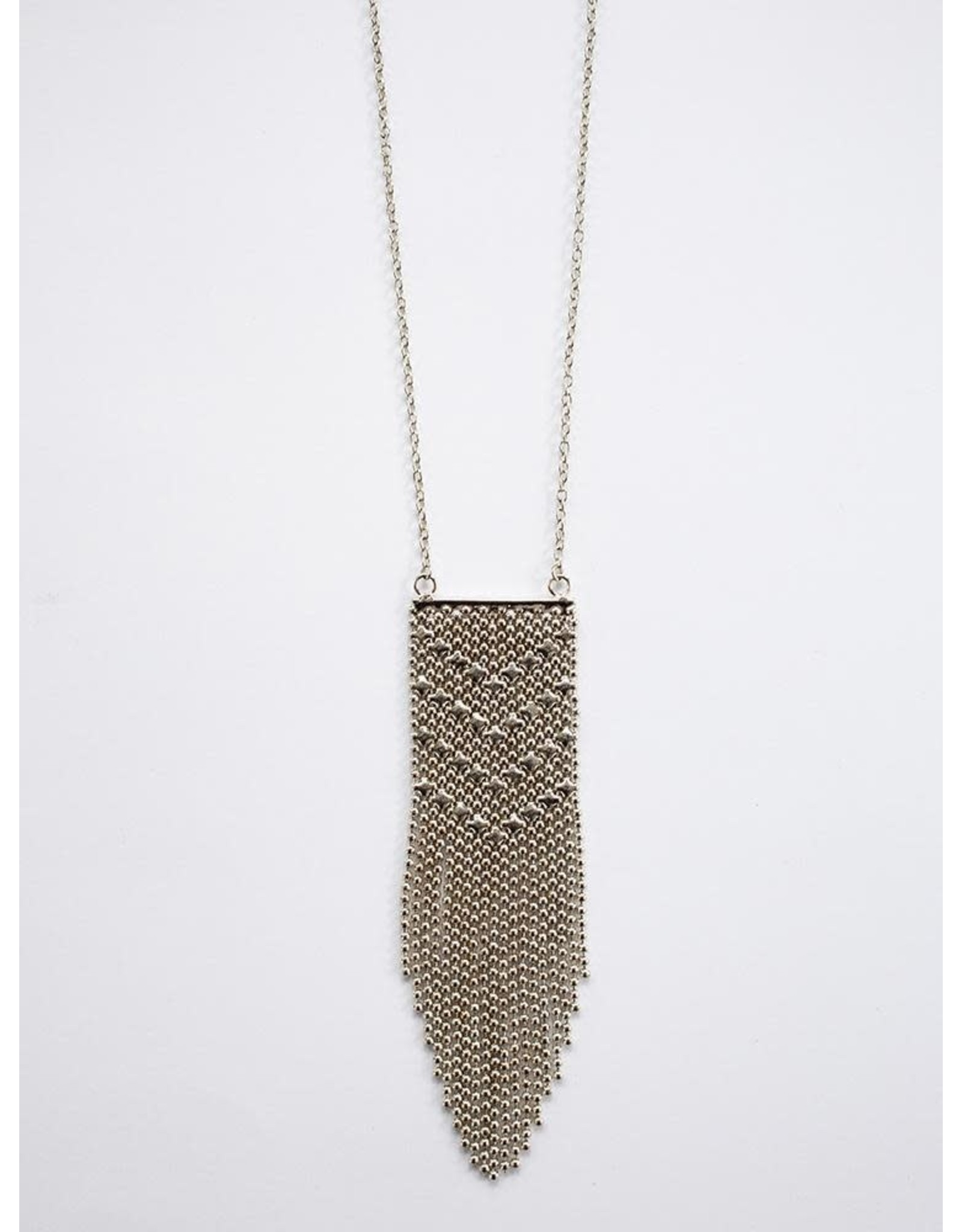 Metalwork Necklace Silver, India