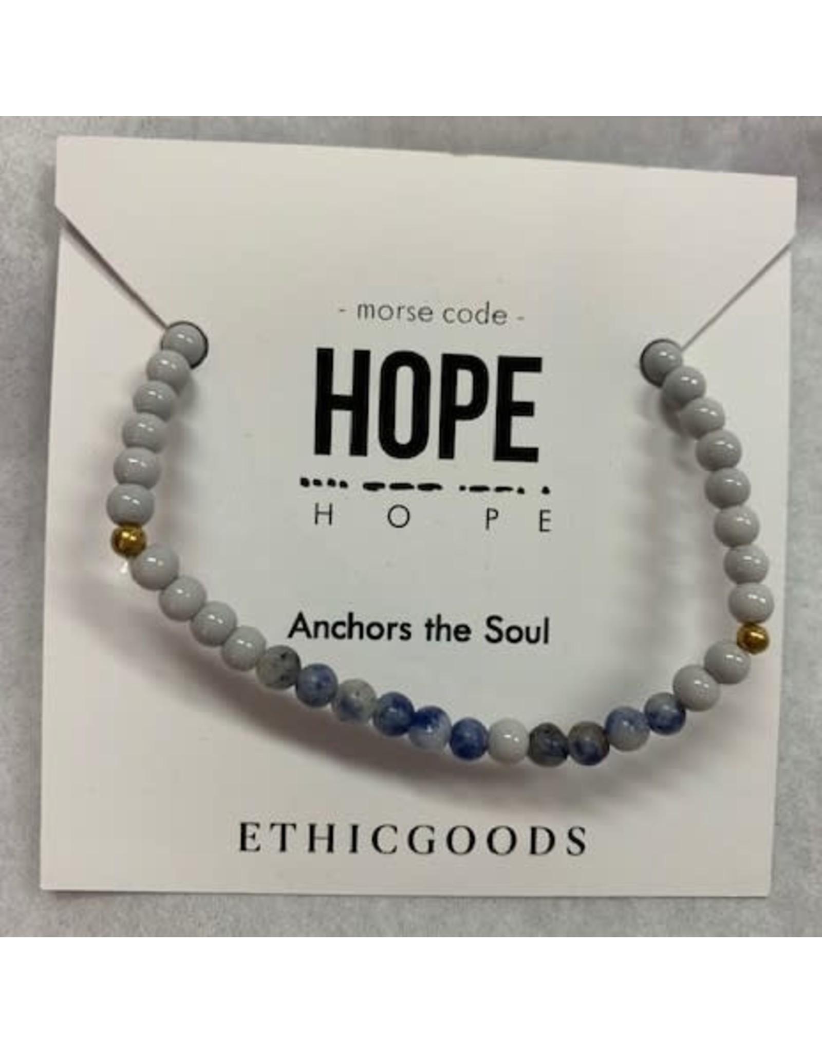 Morse Code HOPE
