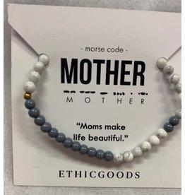 Morse Code MOTHER