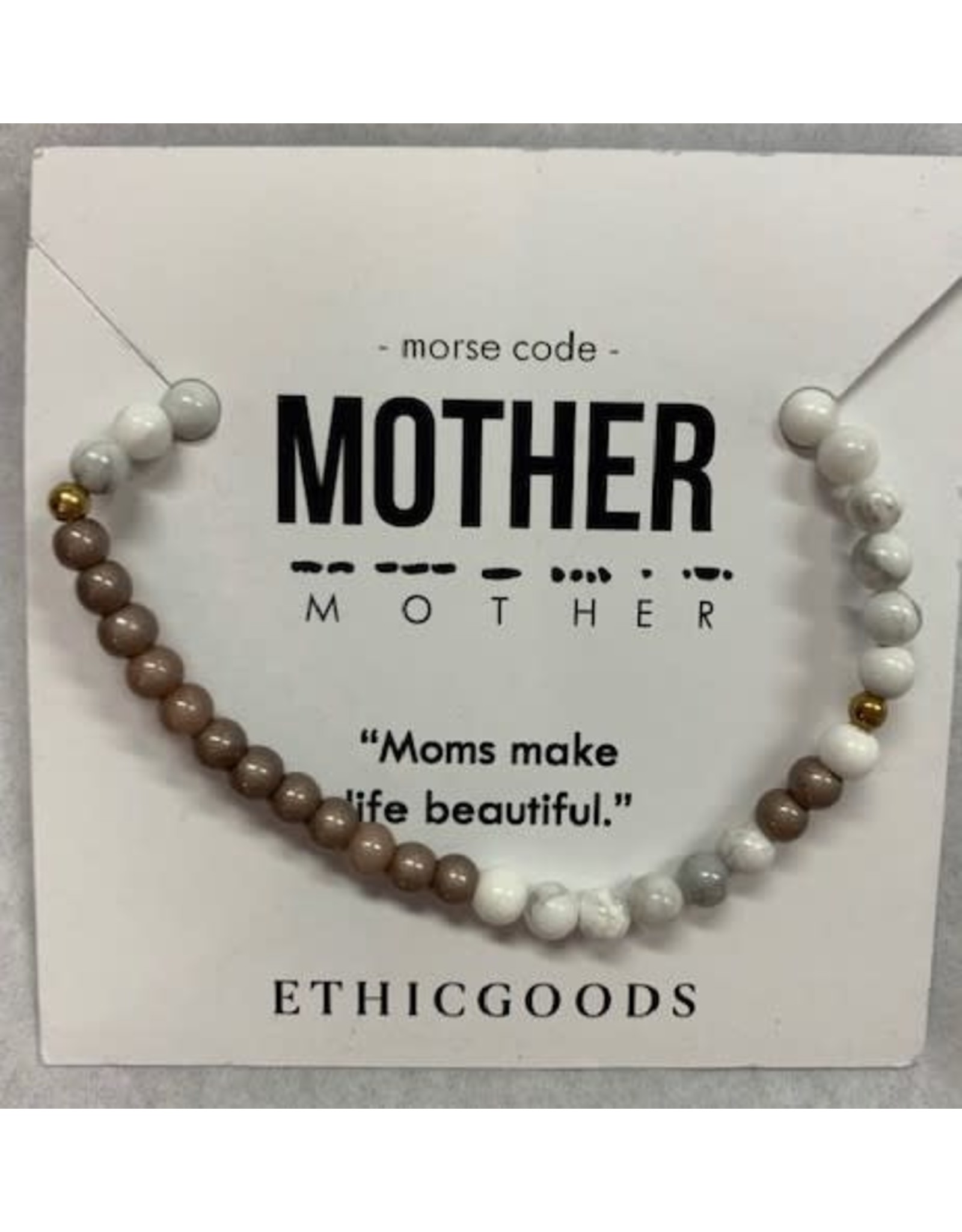Morse Code MOTHER
