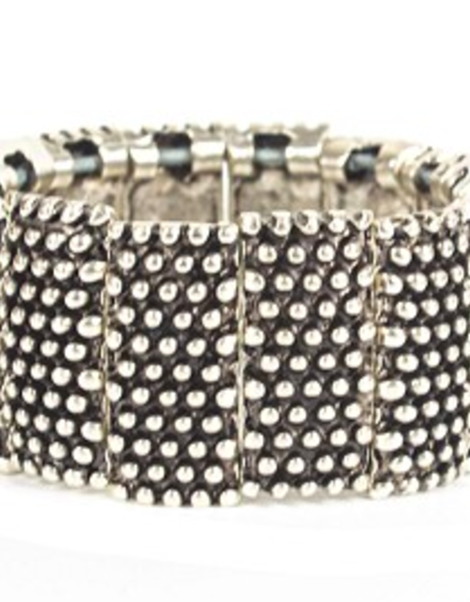 Turkey, Sterling Plated Patterned Bracelet