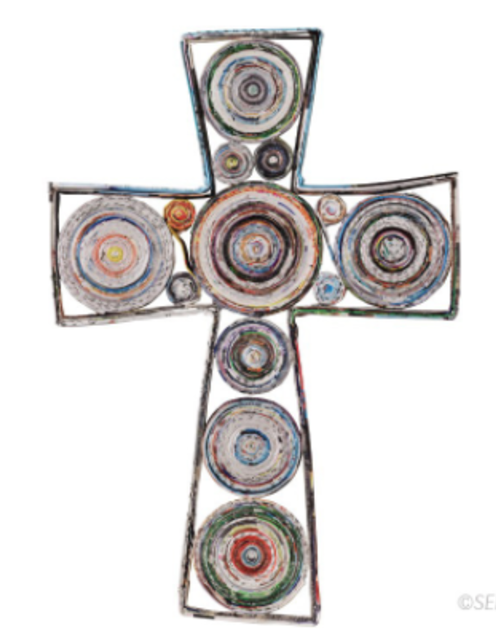 Recycled Paper Cross