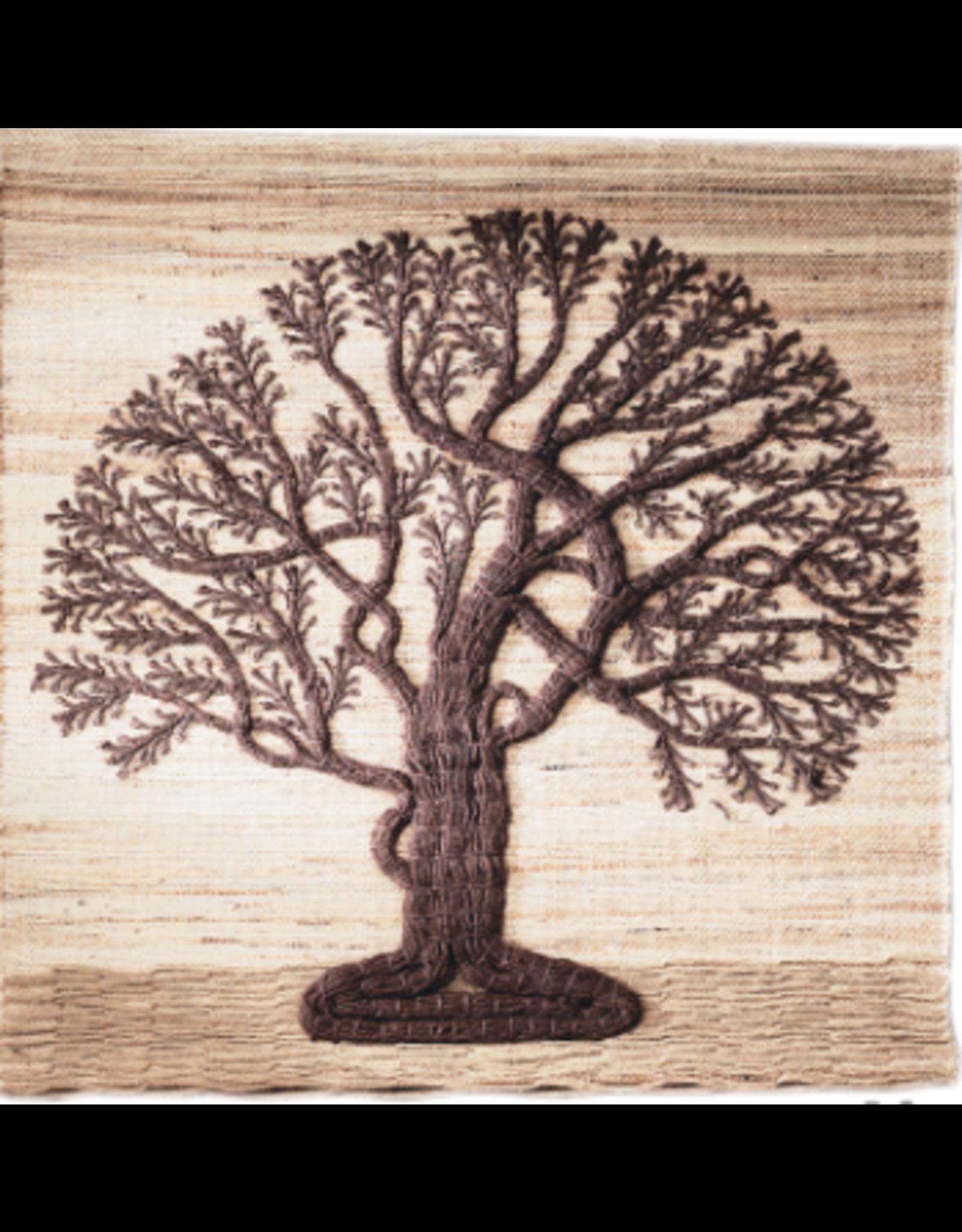 Jute Tree of Life Wall Hanging