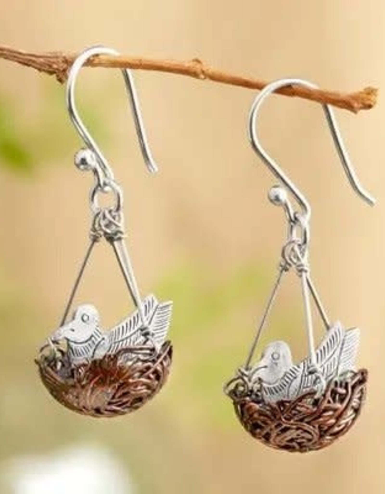 Robins Nest Earrings