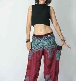 Geometric Mandala Harem Pants
