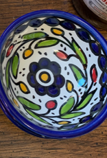 Hand Painted Dipping Bowl, Blue