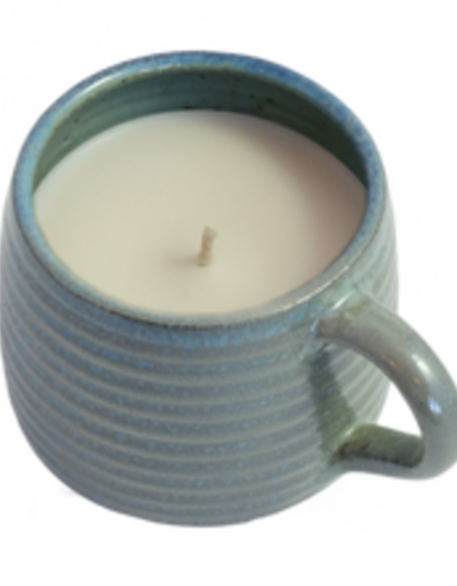Vanilla Ceramic Mug Candle, Cameroon,